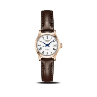 Longines Damenuhr Record Automatik Chronometer 26mm L2.320.8.11.2