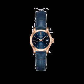 Longines Damenuhr Record Automatik Chronometer 26mm L2.320.8.92.2