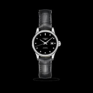 Longines Damenuhr Record Automatik Chronometer 30mm L2.321.0.57.2