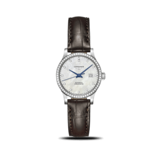 Longines Damenuhr Record Automatik Chronometer 30mm L2.321.0.87.2