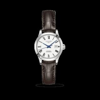 Longines Damenuhr Record Automatik Chronometer 30mm L2.321.4.11.2