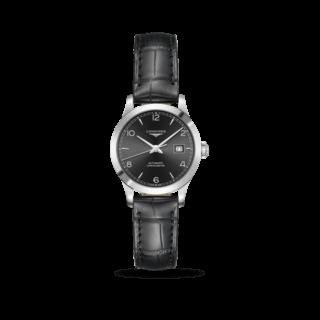 Longines Damenuhr Record Automatik Chronometer 30mm L2.321.4.56.2