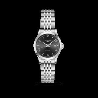 Longines Damenuhr Record Automatik Chronometer 30mm L2.321.4.56.6