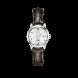 Longines Damenuhr Record Automatik Chronometer 30mm L2.321.4.76.2