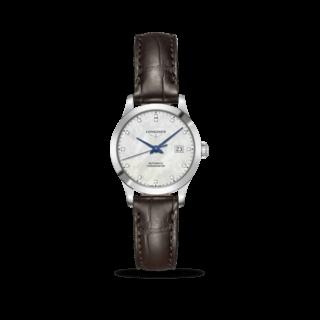 Longines Damenuhr Record Automatik Chronometer 30mm L2.321.4.87.2