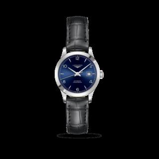 Longines Damenuhr Record Automatik Chronometer 30mm L2.321.4.96.2
