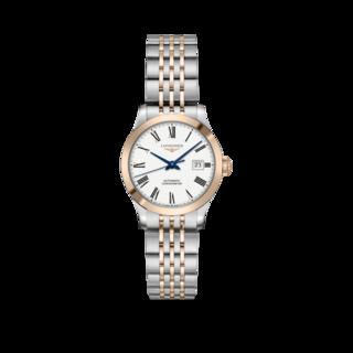Longines Damenuhr Record Automatik Chronometer 30mm L2.321.5.11.7