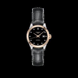 Longines Damenuhr Record Automatik Chronometer 30mm L2.321.5.57.2