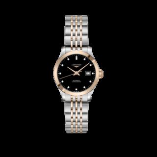 Longines Damenuhr Record Automatik Chronometer 30mm L2.321.5.57.7