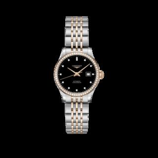 Longines Damenuhr Record Automatik Chronometer 30mm L2.321.5.59.7