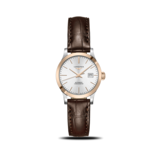 Longines Damenuhr Record Automatik Chronometer 30mm L2.321.5.72.2