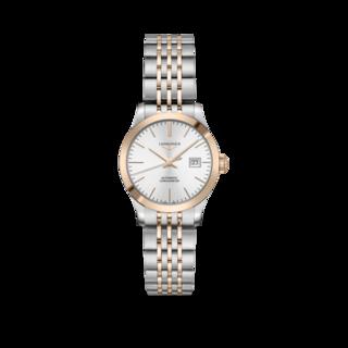 Longines Damenuhr Record Automatik Chronometer 30mm L2.321.5.72.7