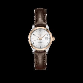 Longines Damenuhr Record Automatik Chronometer 30mm L2.321.5.76.2
