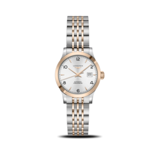 Longines Damenuhr Record Automatik Chronometer 30mm L2.321.5.76.7