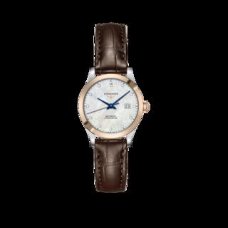 Longines Damenuhr Record Automatik Chronometer 30mm L2.321.5.87.2