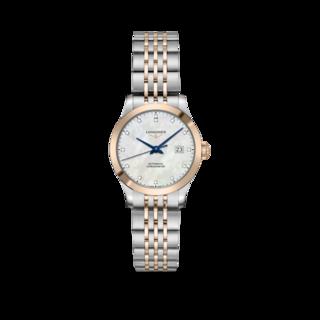 Longines Damenuhr Record Automatik Chronometer 30mm L2.321.5.87.7