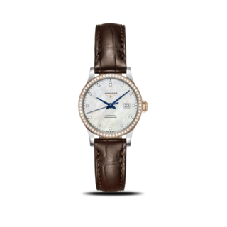 Longines Damenuhr Record Automatik Chronometer 30mm L2.321.5.89.2