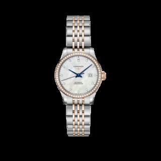 Longines Damenuhr Record Automatik Chronometer 30mm L2.321.5.89.7