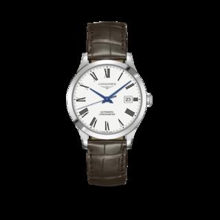 Longines Armbanduhr Record Automatik Chronometer 38,5mm L2.820.4.11.2