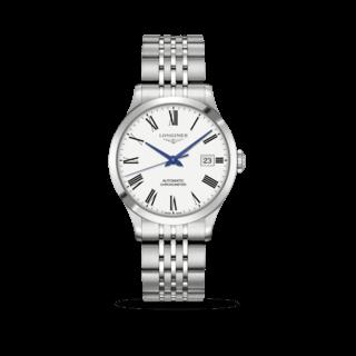 Longines Armbanduhr Record Automatik Chronometer 38,5mm L2.820.4.11.6