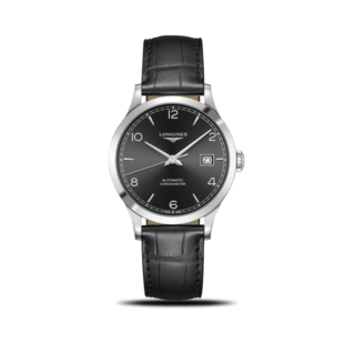 Longines Herrenuhr Record Automatik Chronometer 38,5mm L2.820.4.56.2