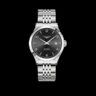 Longines Armbanduhr Record Automatik Chronometer 38,5mm L2.820.4.56.6