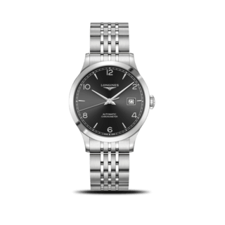 Longines Herrenuhr Record Automatik Chronometer 38,5mm L2.820.4.56.6
