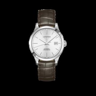 Longines Armbanduhr Record Automatik Chronometer 38,5mm L2.820.4.72.2