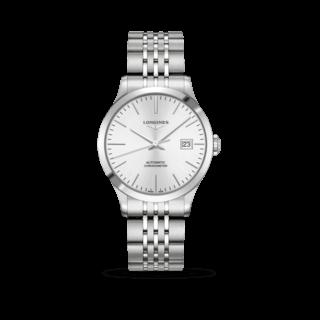Longines Armbanduhr Record Automatik Chronometer 38,5mm L2.820.4.72.6