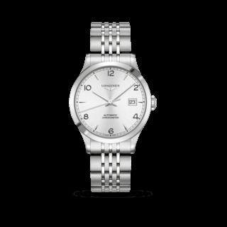 Longines Armbanduhr Record Automatik Chronometer 38,5mm L2.820.4.76.6