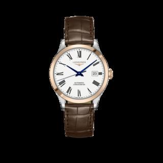 Longines Armbanduhr Record Automatik Chronometer 38,5mm L2.820.5.11.2