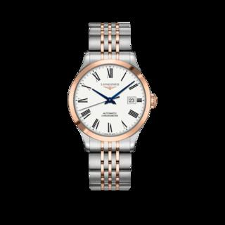 Longines Armbanduhr Record Automatik Chronometer 38,5mm L2.820.5.11.7