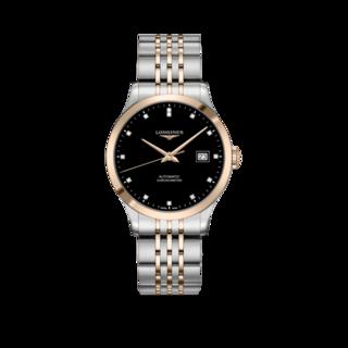 Longines Armbanduhr Record Automatik Chronometer 38,5mm L2.820.5.57.7