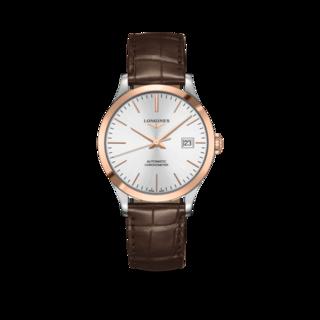 Longines Armbanduhr Record Automatik Chronometer 38,5mm L2.820.5.72.2