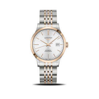 Longines Armbanduhr Record Automatik Chronometer 38,5mm L2.820.5.72.7