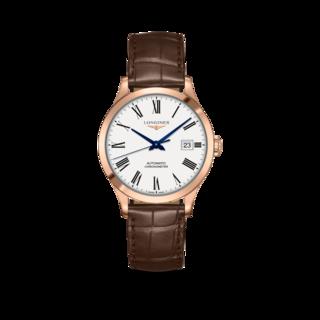 Longines Armbanduhr Record Automatik Chronometer 38,5mm L2.820.8.11.2