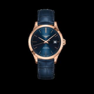 Longines Armbanduhr Record Automatik Chronometer 38,5mm L2.820.8.92.2
