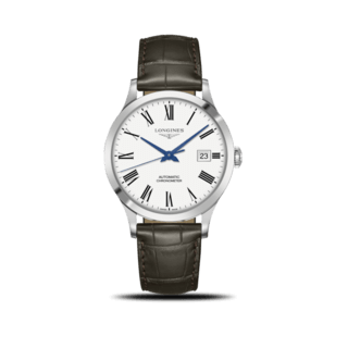 Longines Herrenuhr Record Automatik Chronometer 40mm L2.821.4.11.2