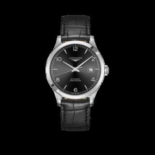 Longines Herrenuhr Record Automatik Chronometer 40mm L2.821.4.56.2