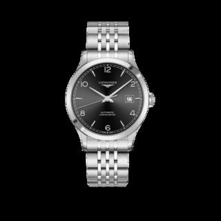Longines Herrenuhr Record Automatik Chronometer 40mm L2.821.4.56.6