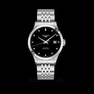Longines Herrenuhr Record Automatik Chronometer 40mm L2.821.4.57.6
