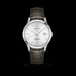 Longines Herrenuhr Record Automatik Chronometer 40mm L2.821.4.72.2