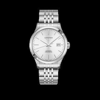 Longines Herrenuhr Record Automatik Chronometer 40mm L2.821.4.72.6