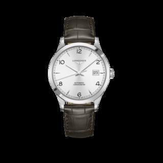 Longines Herrenuhr Record Automatik Chronometer 40mm L2.821.4.76.2