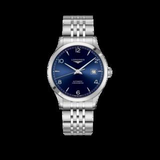 Longines Herrenuhr Record Automatik Chronometer 40mm L2.821.4.96.6