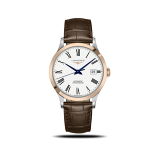 Longines Herrenuhr Record Automatik Chronometer 40mm L2.821.5.11.2