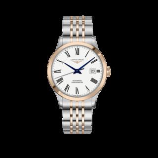 Longines Herrenuhr Record Automatik Chronometer 40mm L2.821.5.11.7