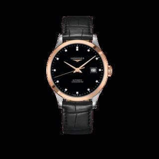 Longines Herrenuhr Record Automatik Chronometer 40mm L2.821.5.57.2