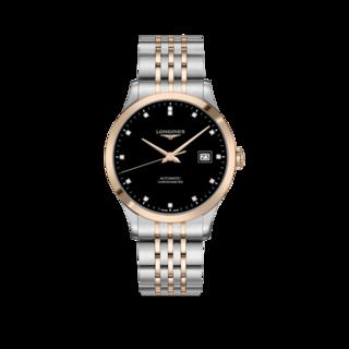 Longines Herrenuhr Record Automatik Chronometer 40mm L2.821.5.57.7