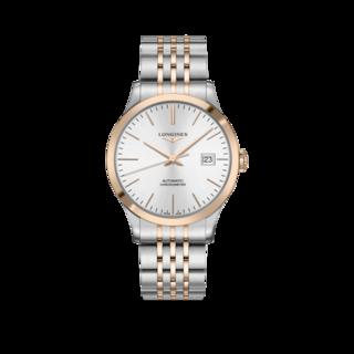 Longines Herrenuhr Record Automatik Chronometer 40mm L2.821.5.72.7